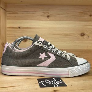 Mn Converse 121734F Gray Pink Athletic Shoes